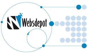 Websdepot points logo